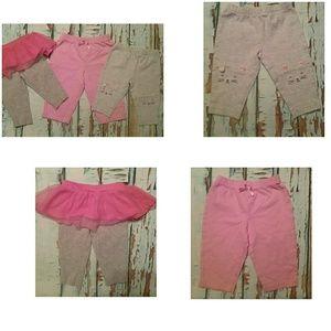 🍁BOGO 🍁   Infant girls bundle Leggings 3m